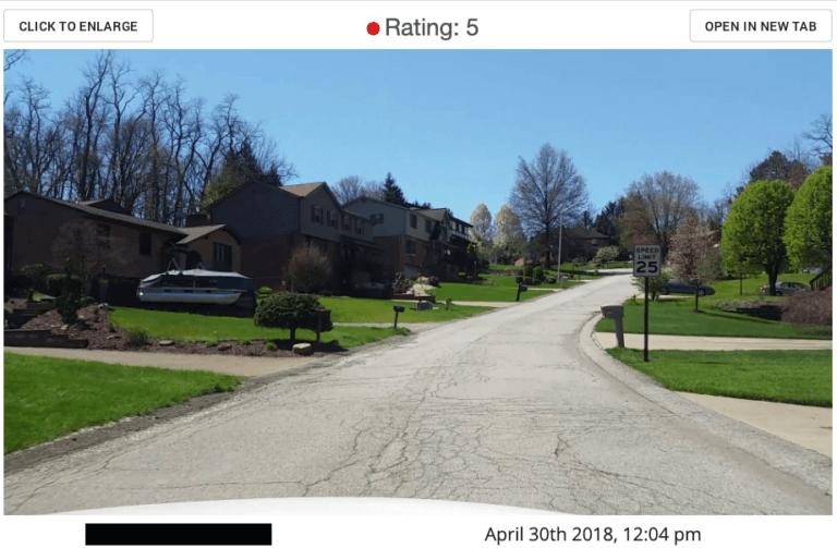 roadbotics road assessment cracking