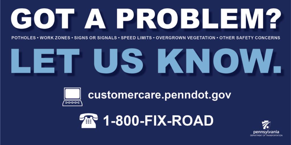 penndot fix roads line