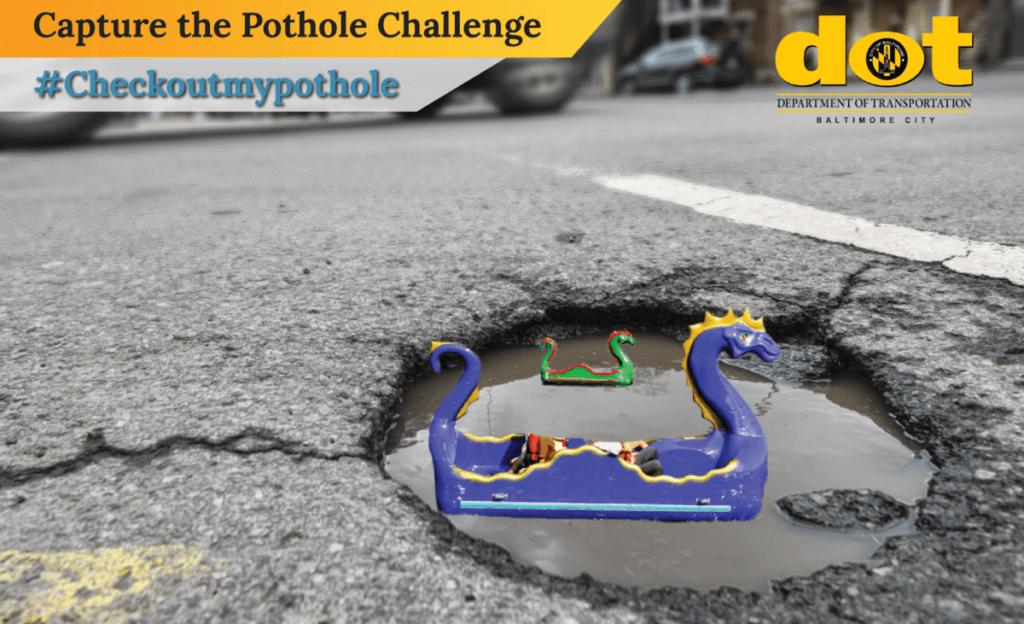 baltimore capture the pothole challenge