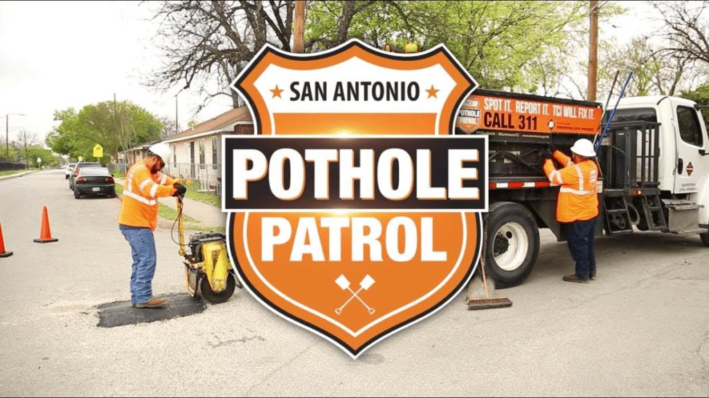 san antonio pothole patrol