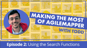 making the most of agilemapper using the search functions