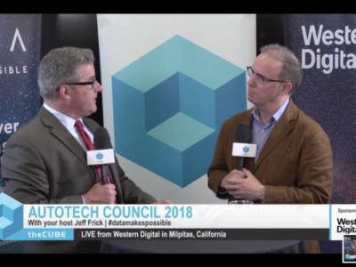 RoadBotics CEO MarkDeSantis at the Autotech Council's Meet-Up